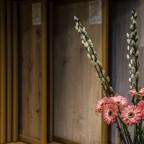 Bloemen plankenhuis